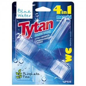 WC valiklis-gaiviklis Tytan Blue Water 4in1, 45g