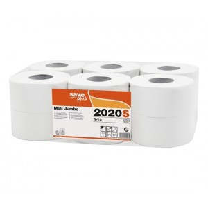 Tualetinis popierius Celtex Save Plus Mini Jumbo