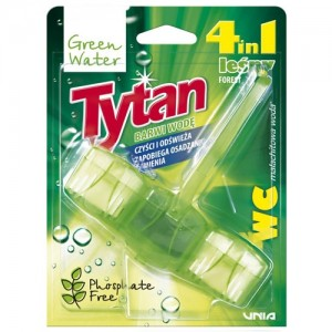 WC valiklis-gaiviklis Tytan Green Water 4in1, 45g
